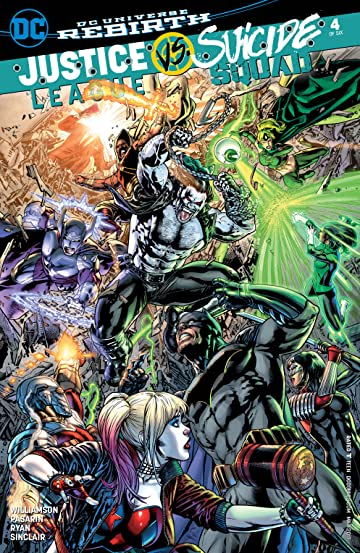 Justice League vs. Suicide Squad (2016-2017) #4