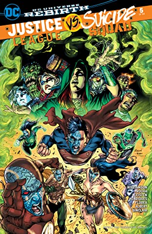 Justice League vs. Suicide Squad (2016-2017) #5