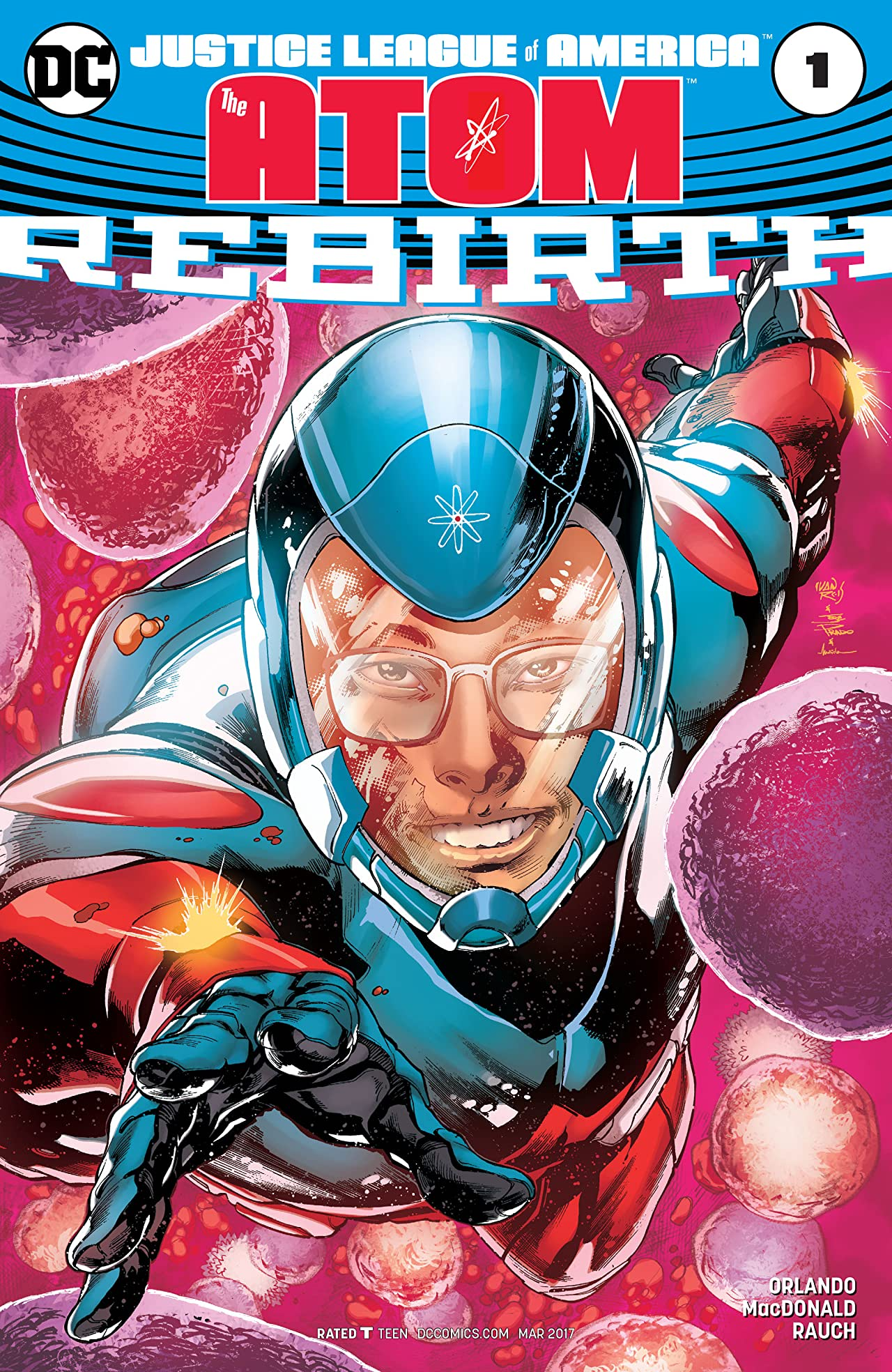 Justice League of America: The Atom Rebirth (2017) No.1
