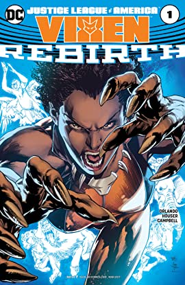Justice League of America: Vixen Rebirth (2017) #1