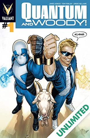 Quantum and Woody (2013- ) #1: Digital Exclusives Edition