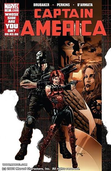 Captain America (2004-2011) #17