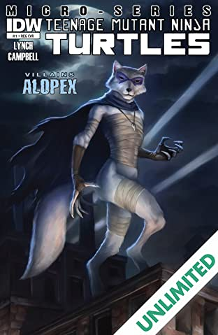Teenage Mutant Ninja Turtles: Villains Micro-Series #4: Alopex