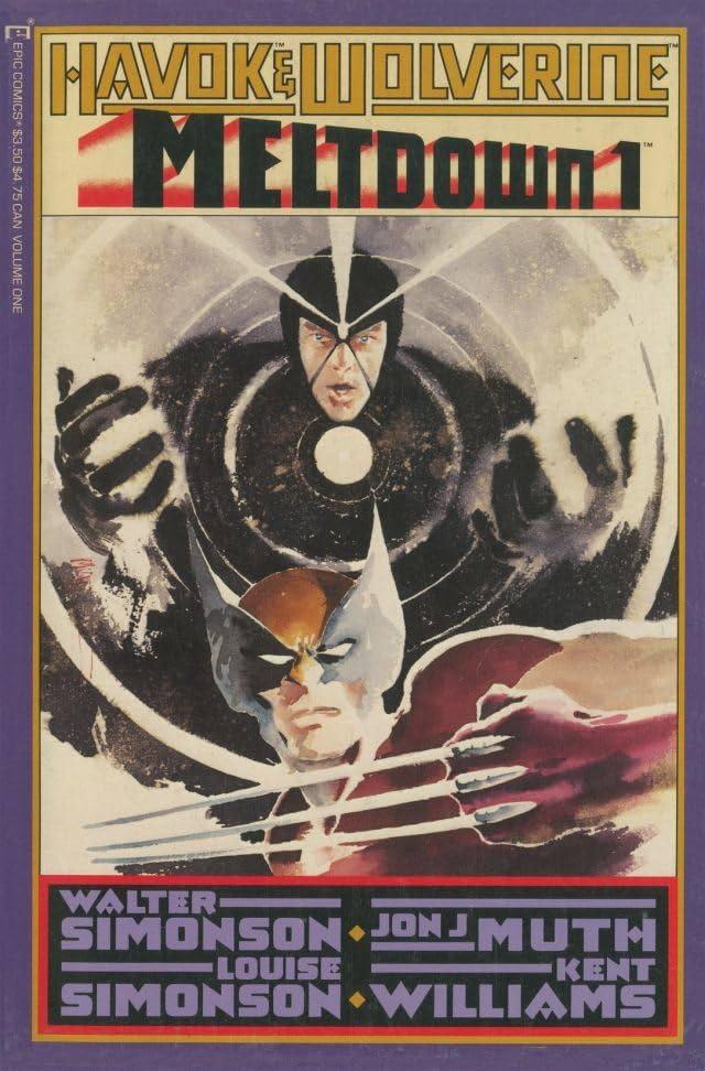 Havok and Wolverine: Meltdown #1 (of 4)