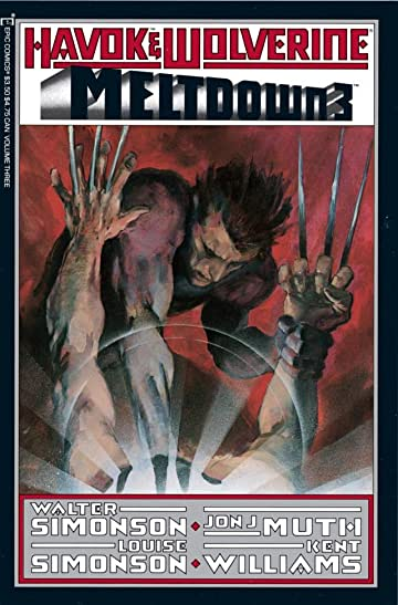 Havok and Wolverine: Meltdown #3 (of 4)