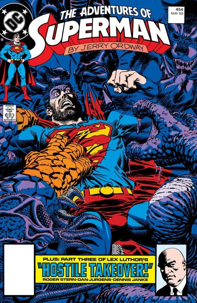 Adventures of Superman (1986-2006) #454