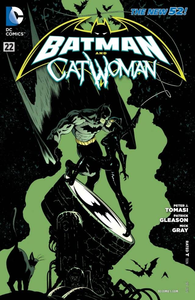 Batman and Robin (2011-2015) #22: Catwoman
