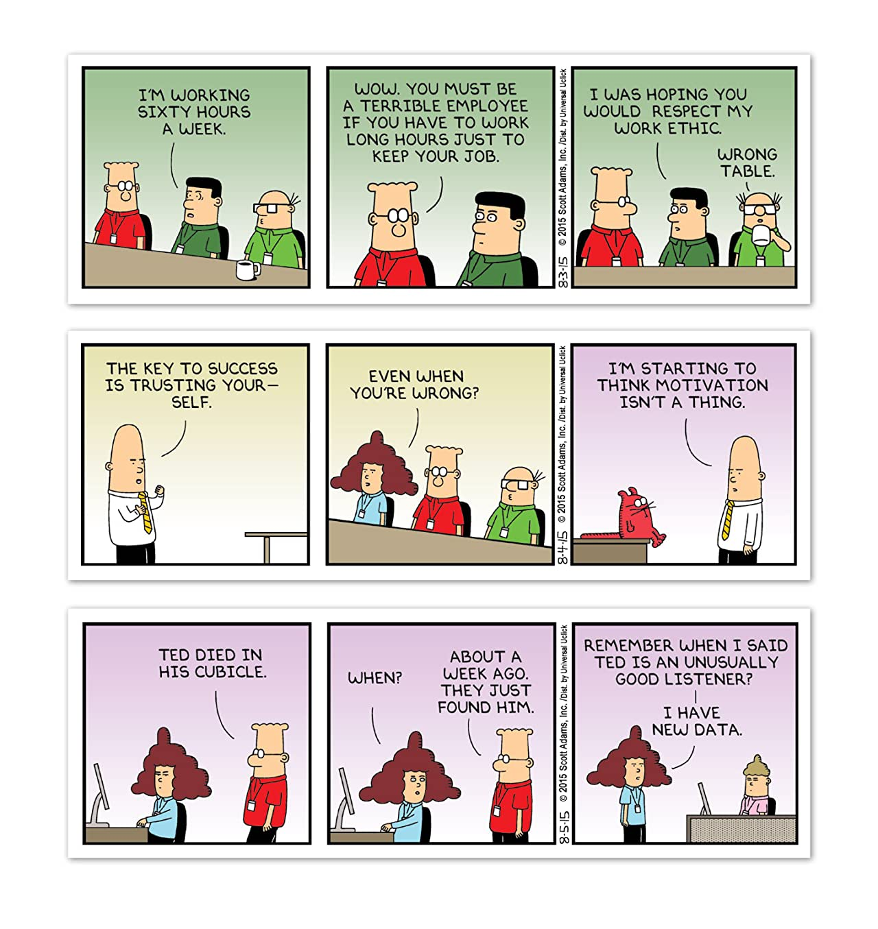 Dilbert: I'm No Scientist, But I Think Feng Shui Is Part of the Answer