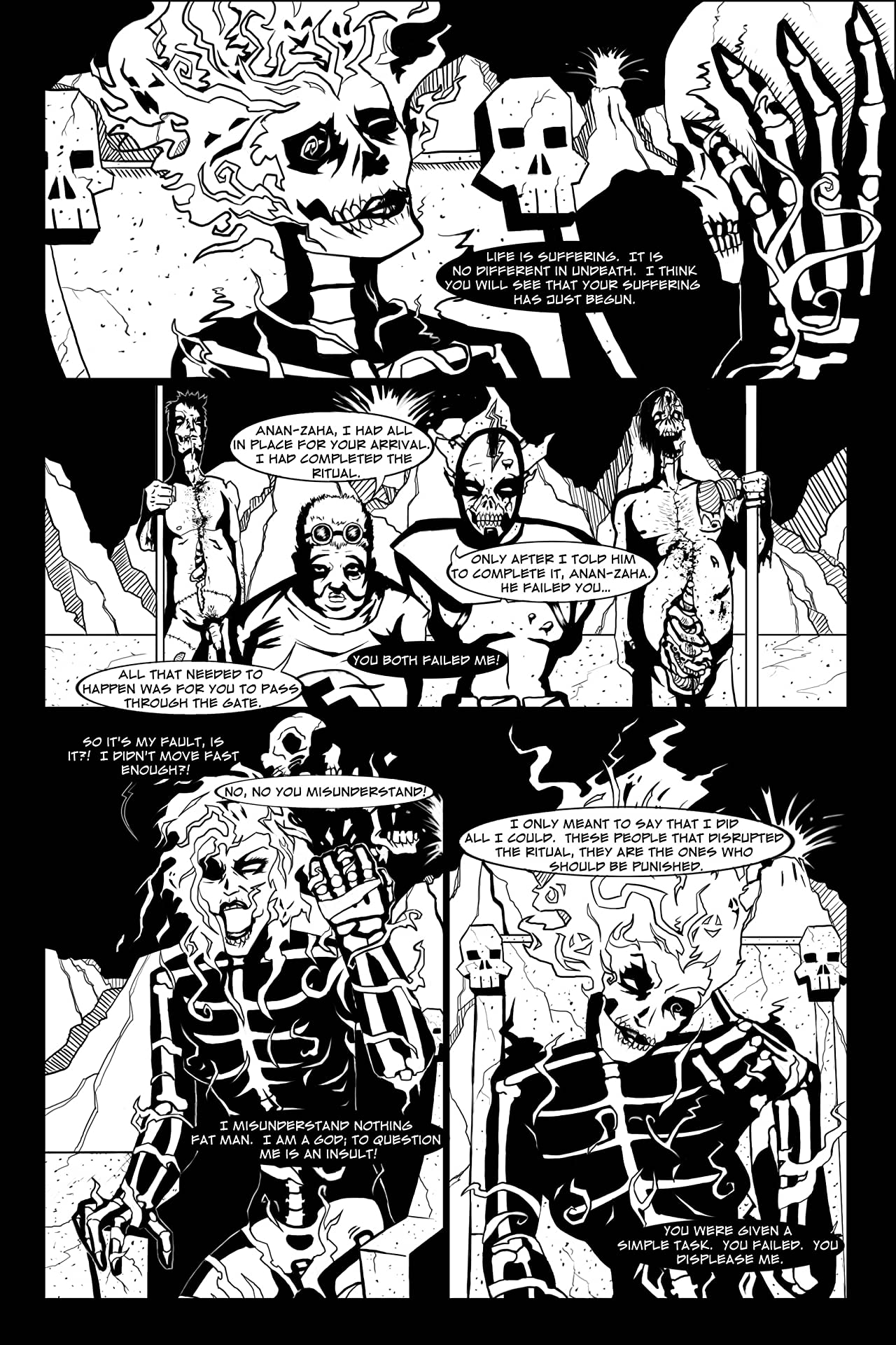 The Calamitous Black Devils #2