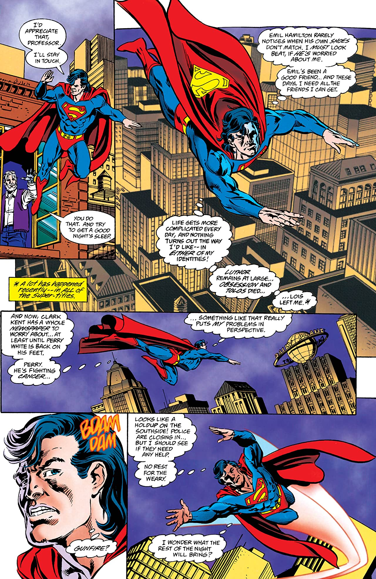 Superman: The Man of Tomorrow (1995-1999) #6