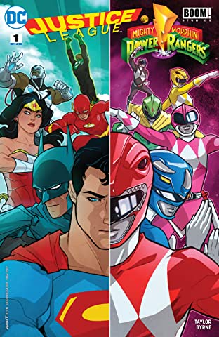 Justice League/Power Rangers (2017-) #1