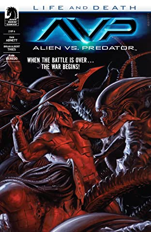 Aliens vs. Predator: Life and Death #2