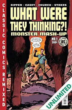 What Were They Thinking?!: Monster Mash Up (One-Shot)