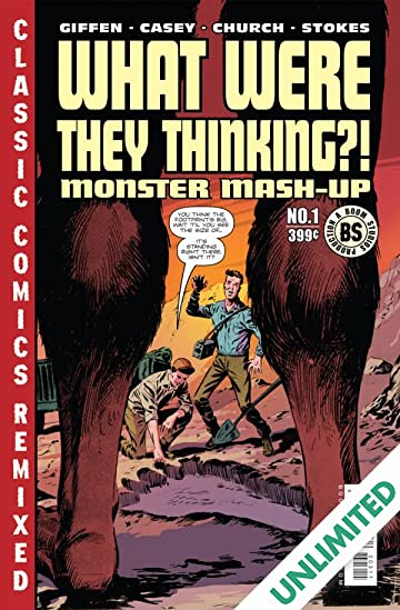 What Were They Thinking >> What Were They Thinking Monster Mash Up One Shot Comics By
