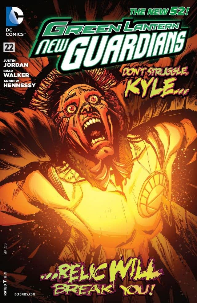 Green Lantern: New Guardians (2011-2015) #22