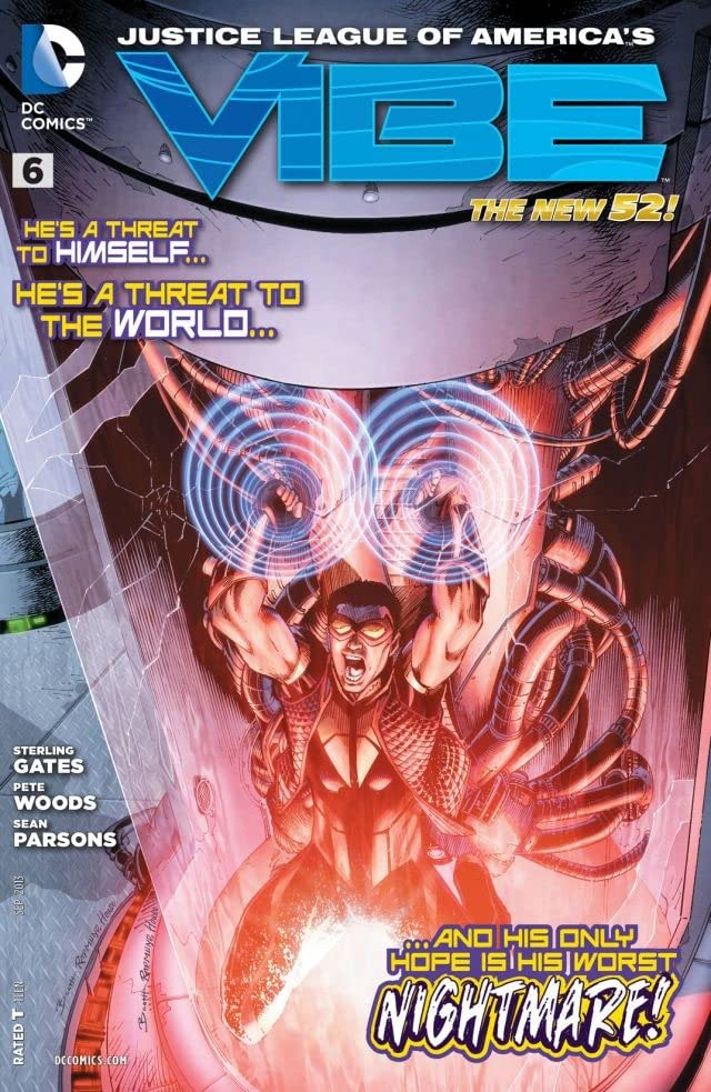 Justice League of America's Vibe (2013) #6