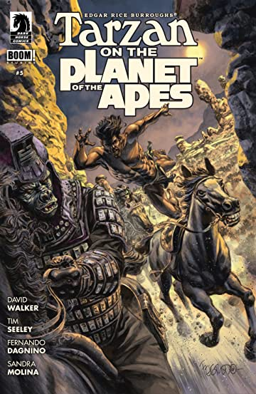 Tarzan on the Planet of the Apes #5