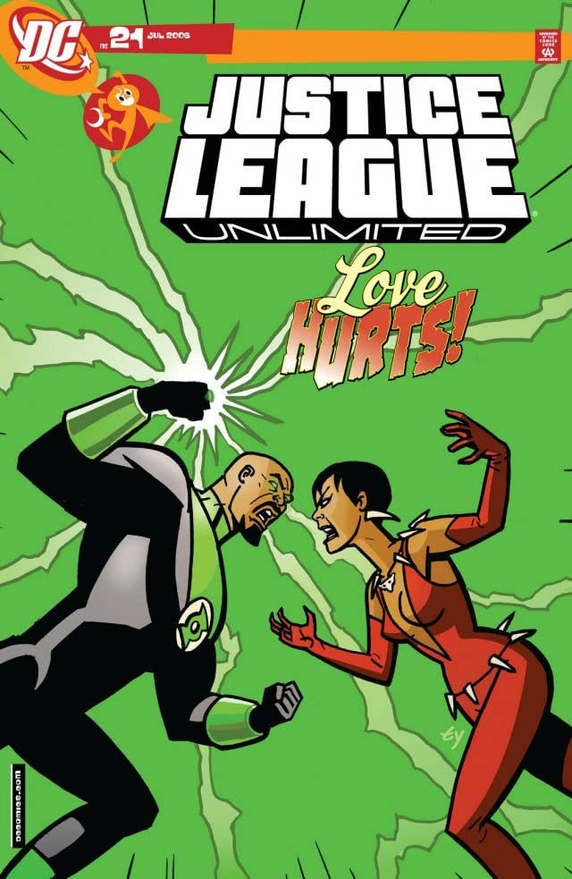 Justice League Unlimited #21
