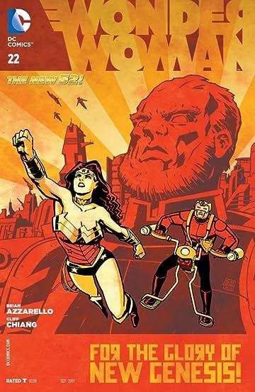 Wonder Woman (2011-) #22