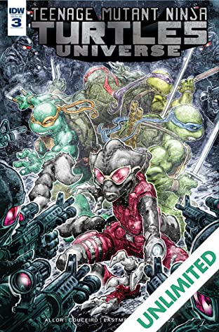 Teenage Mutant Ninja Turtles Universe #3