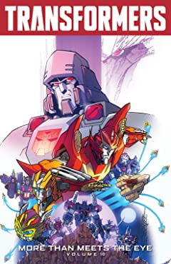 Transformers: More Than Meets the Eye (2011-2016) Tome 10