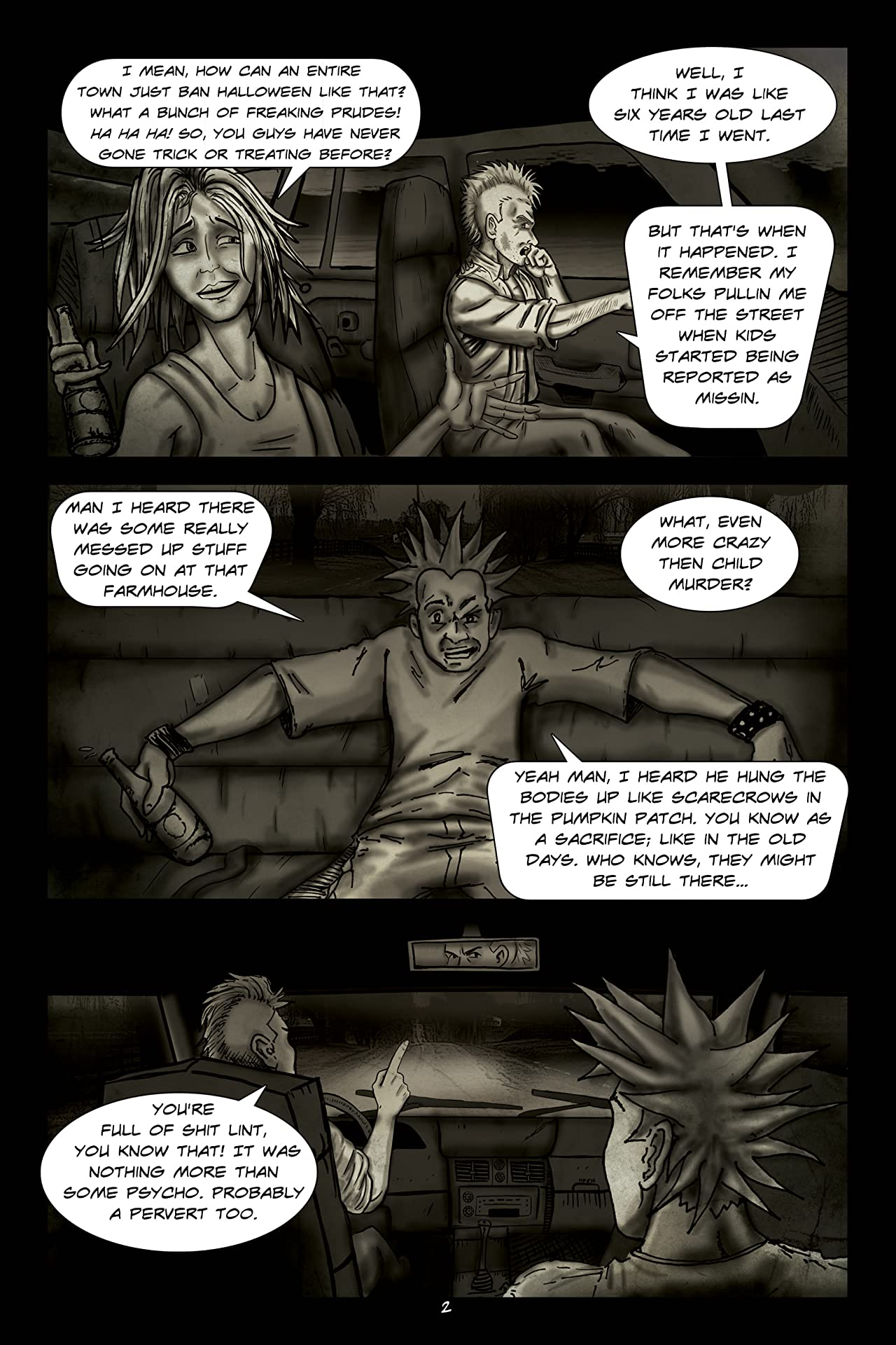 Horror Legends #0