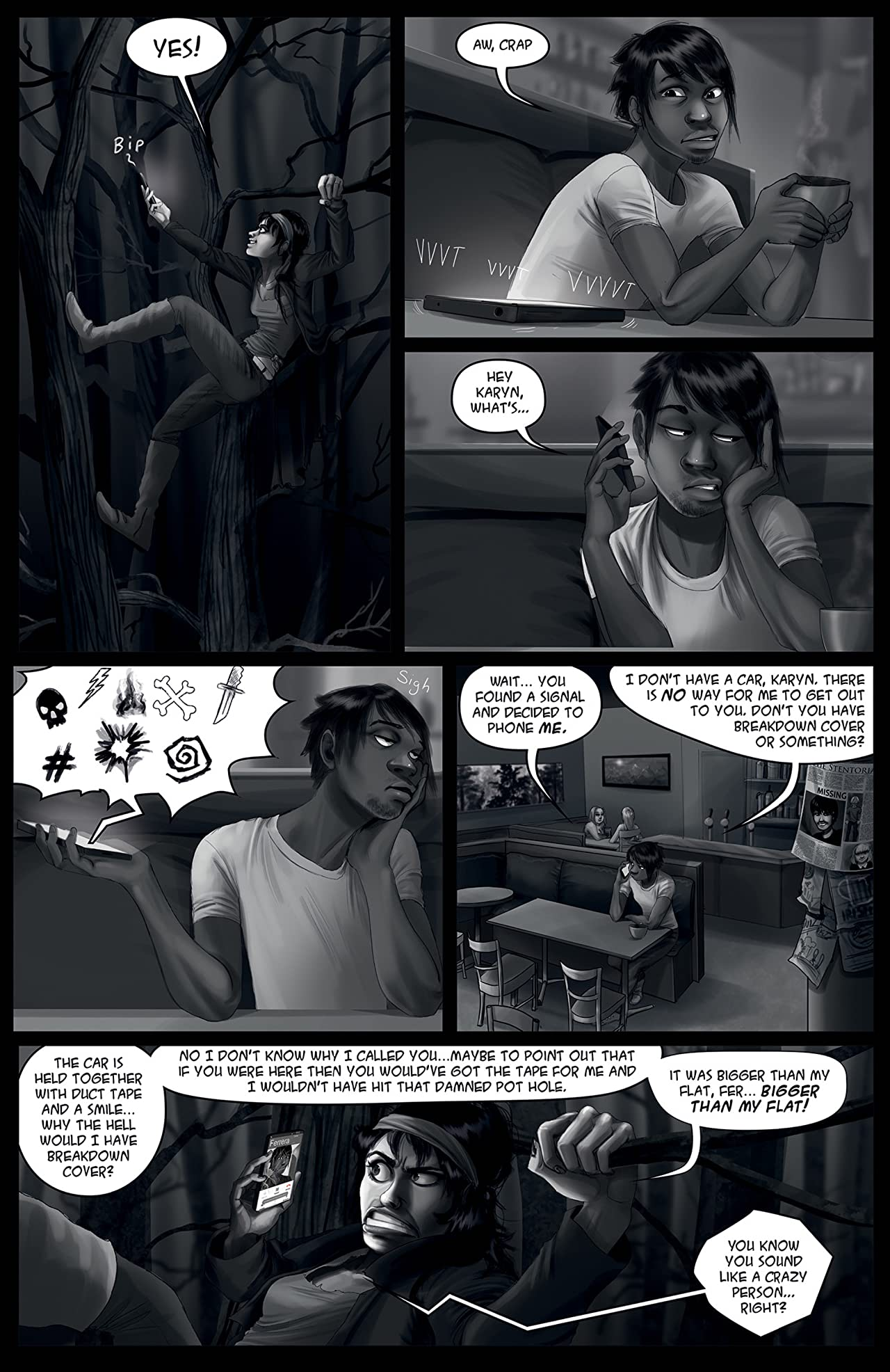Comichaus Vol. 1