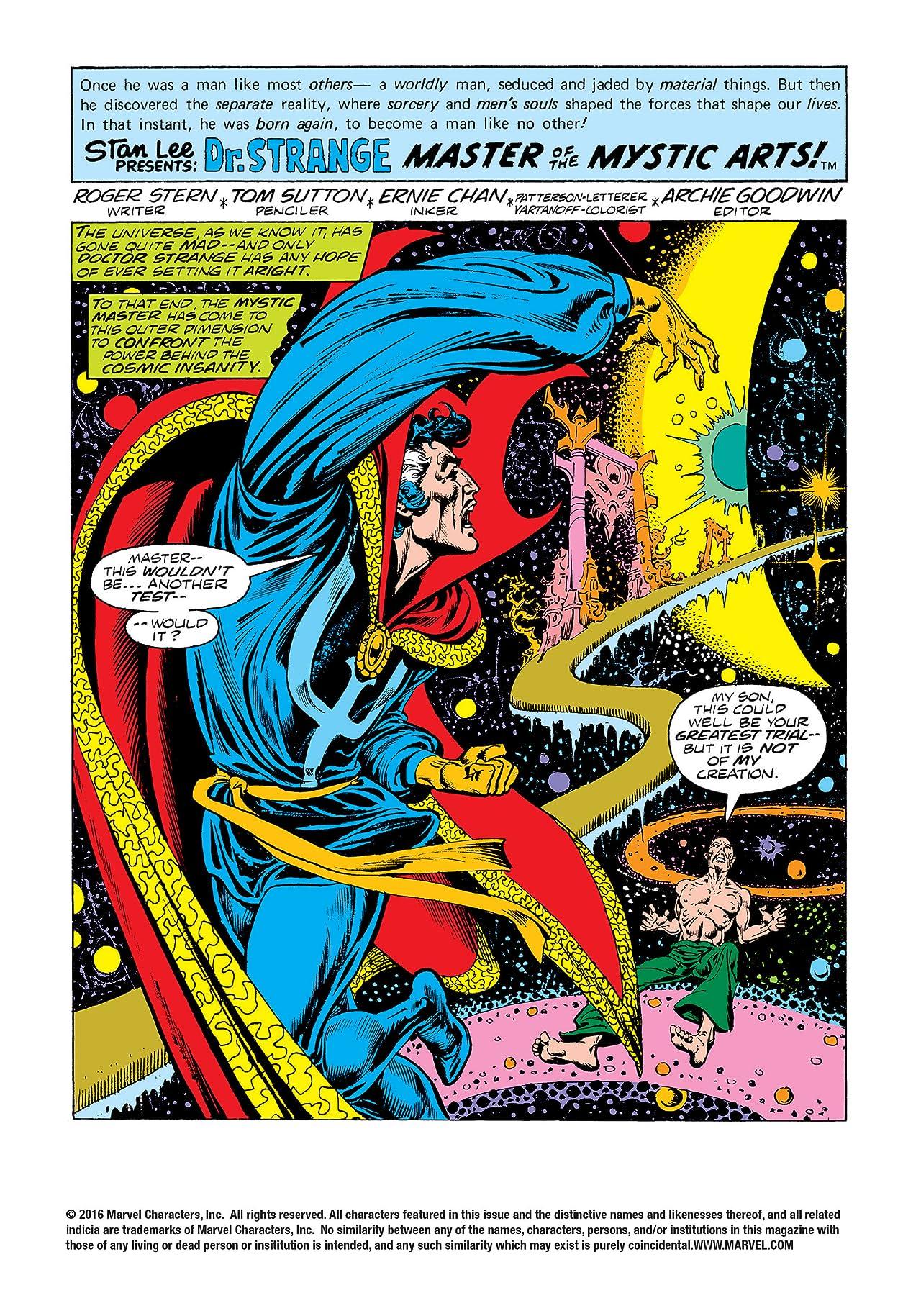Doctor Strange (1974-1987) #27