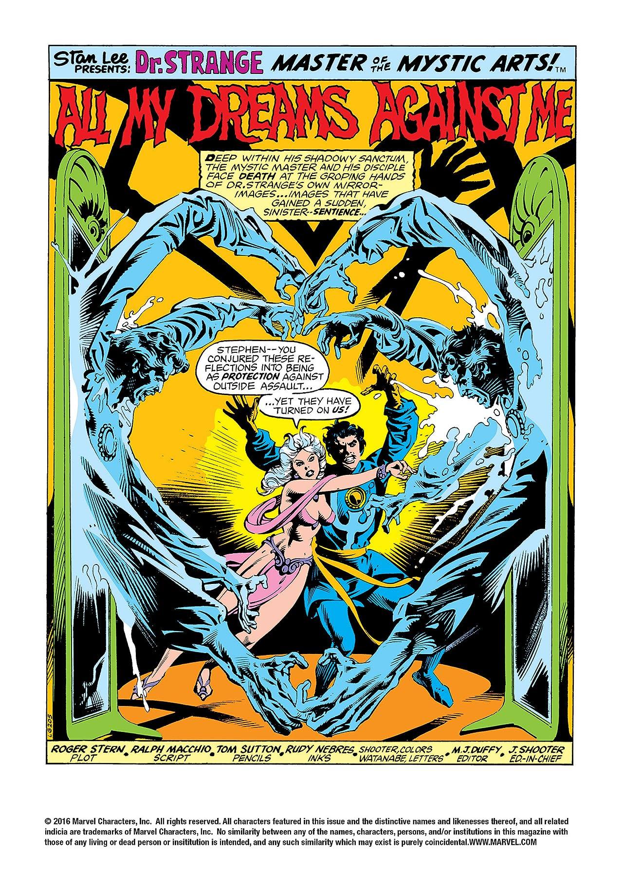 Doctor Strange (1974-1987) #33