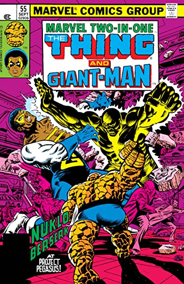 Marvel Two-In-One (1974-1983) #55