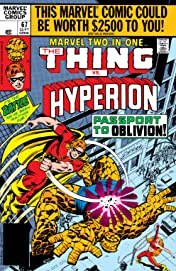 Marvel Two-In-One (1974-1983) #67