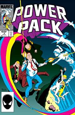 Power Pack (1984-1991) #5