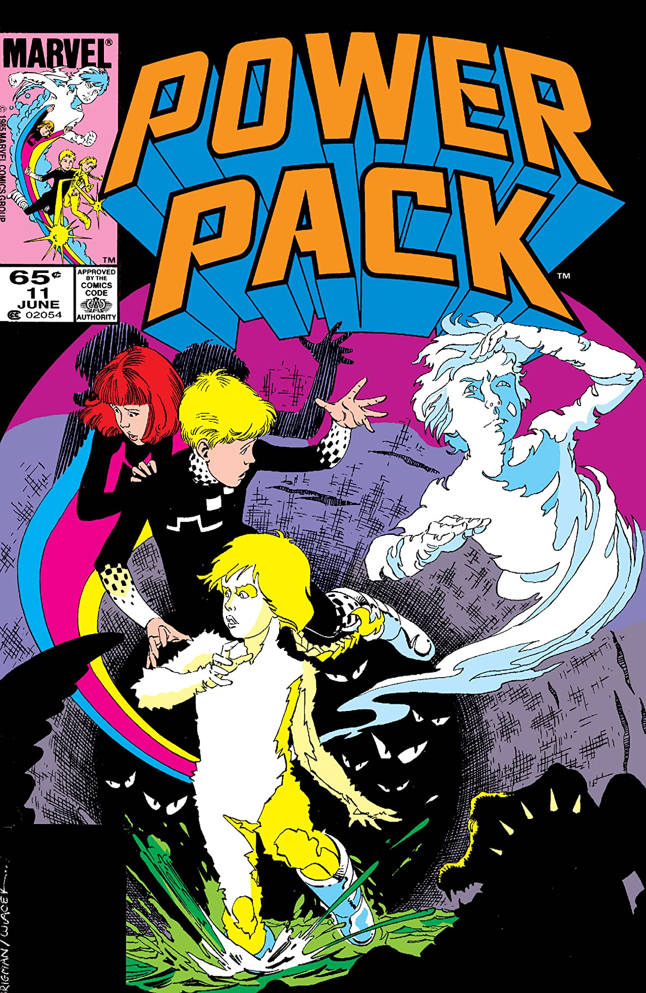 Power Pack (1984-1991) #11