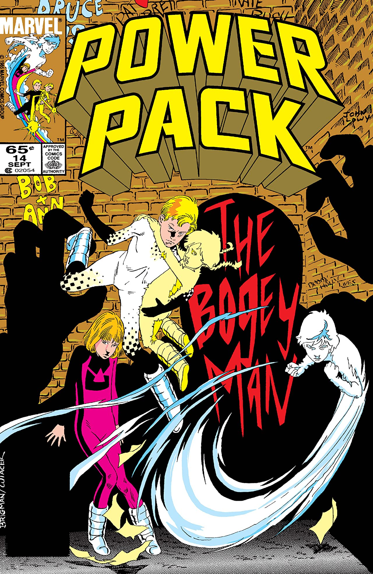 Power Pack (1984-1991) #14