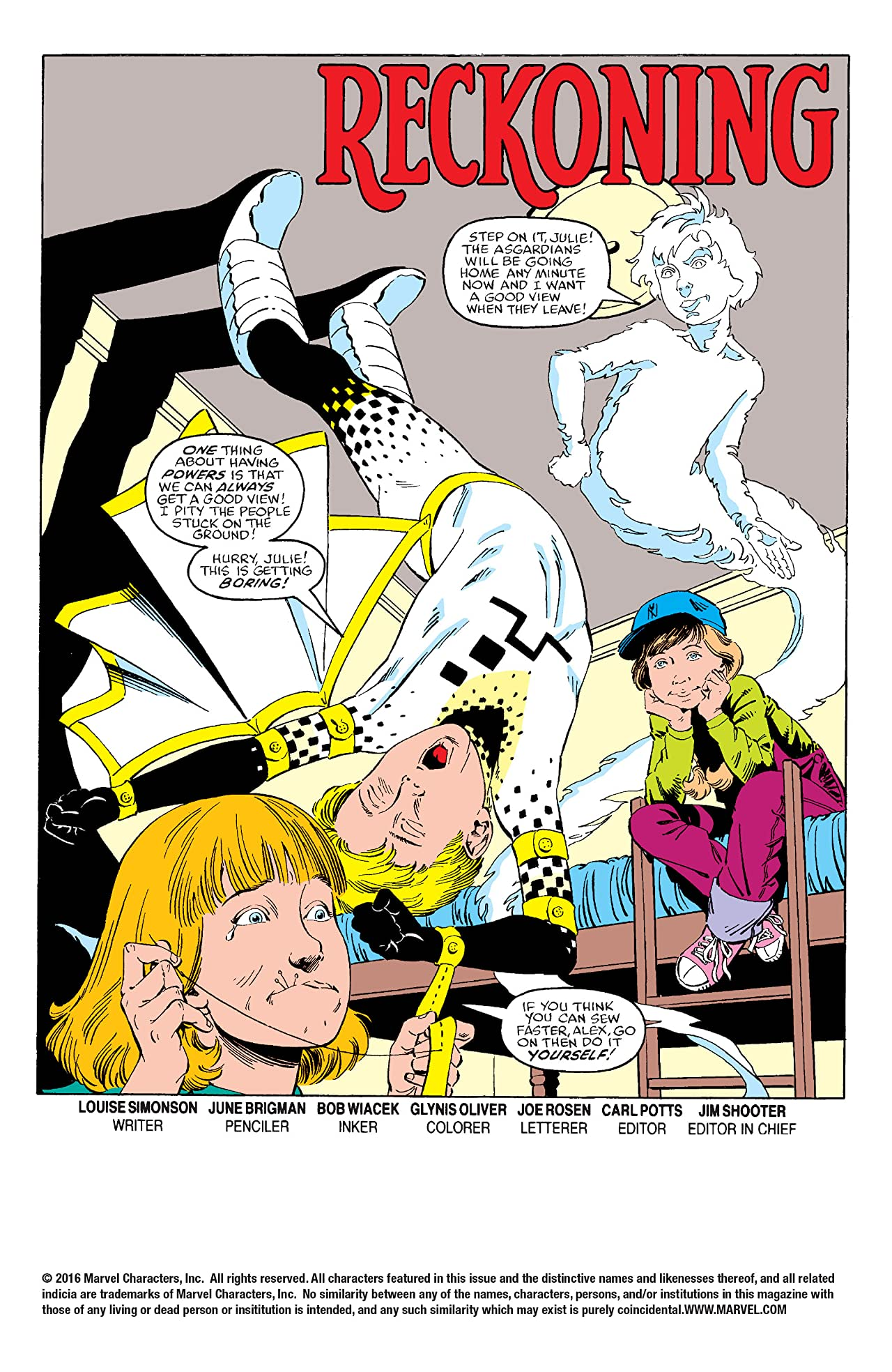 Power Pack (1984-1991) #15