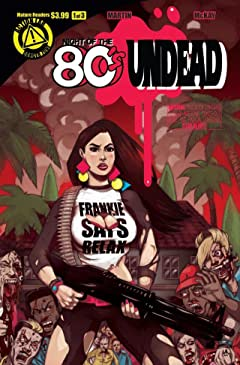 Night of the 80's Undead No.1 (sur 3)