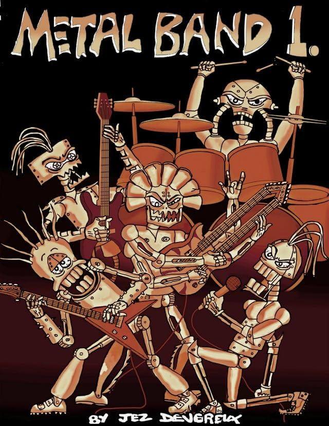 Metal Band Cartoon #1