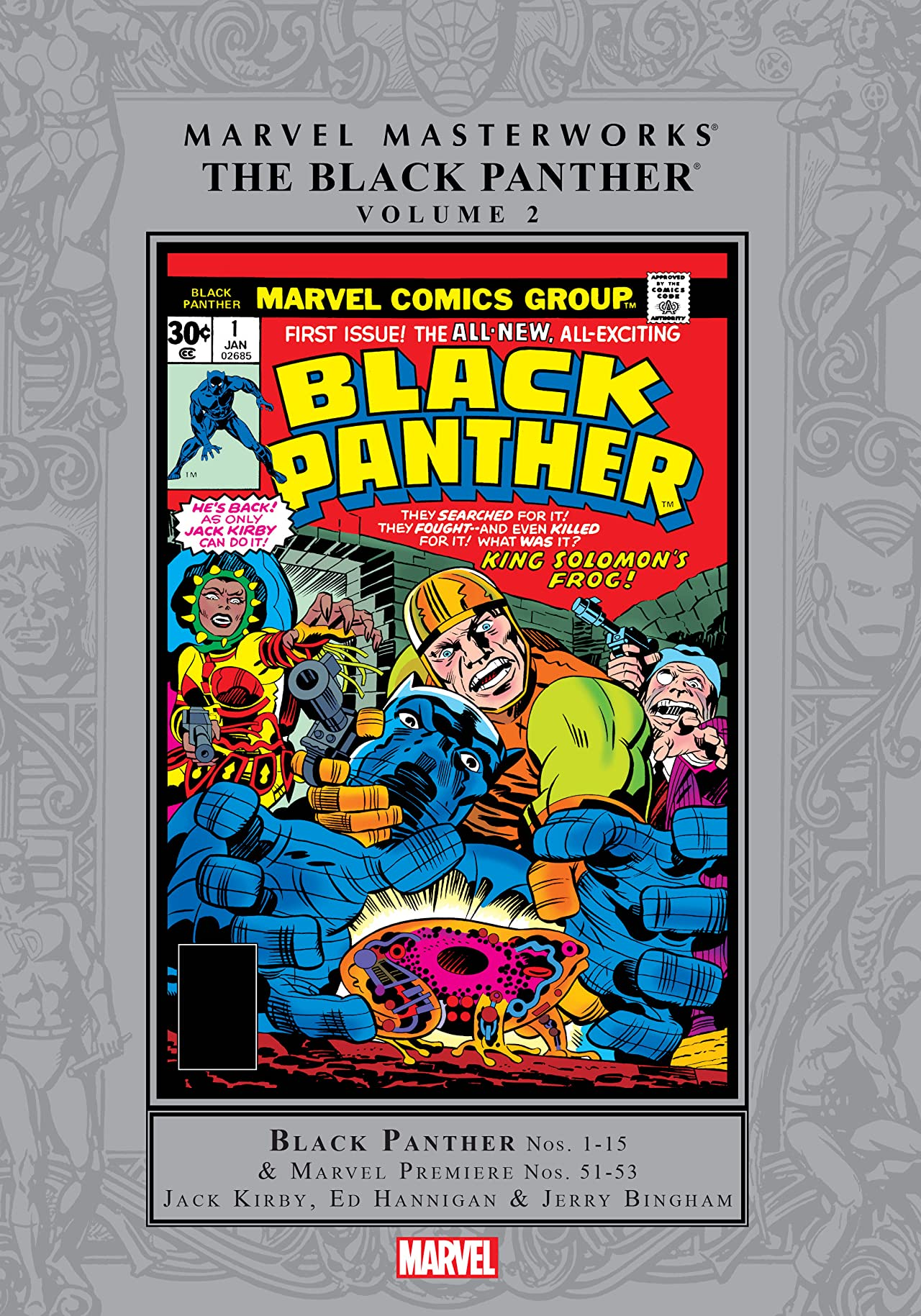 Black Panther Masterworks Vol. 2