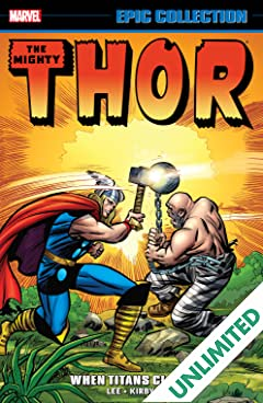 Thor Epic Collection: When Titans Clash