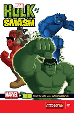 Marvel Universe Hulk: Agents Of S.M.A.S.H. (2013-2014) #1