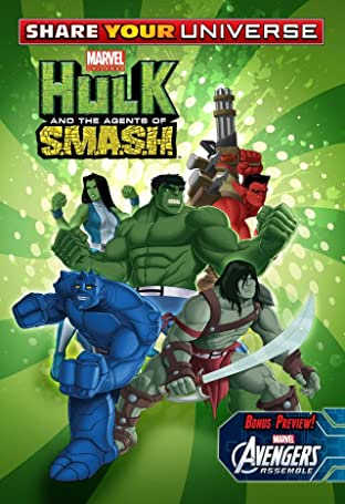 Share Your Universe Hulk: Agents Of Smash