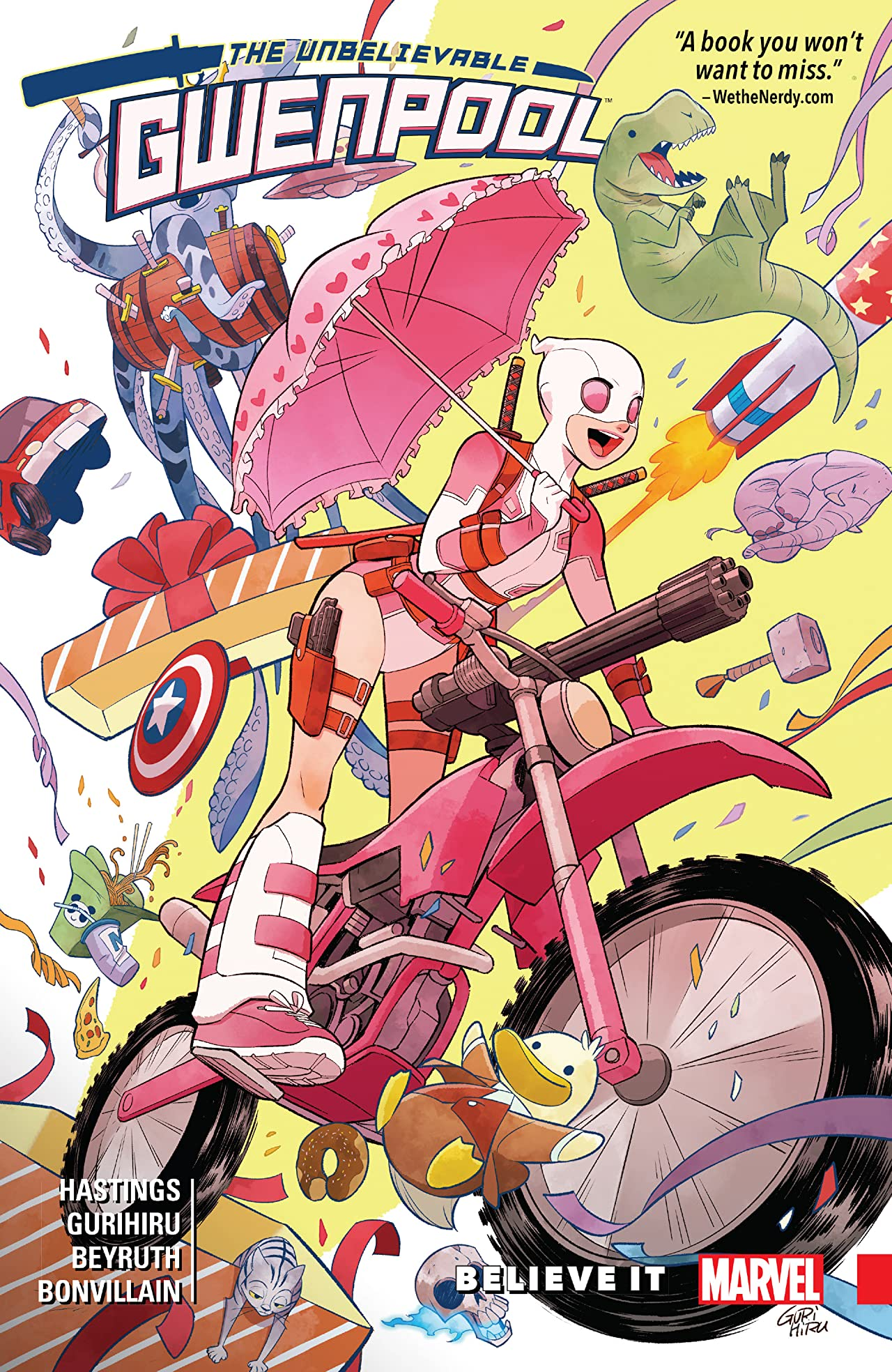Gwenpool, The Unbelievable Vol. 1: Believe It
