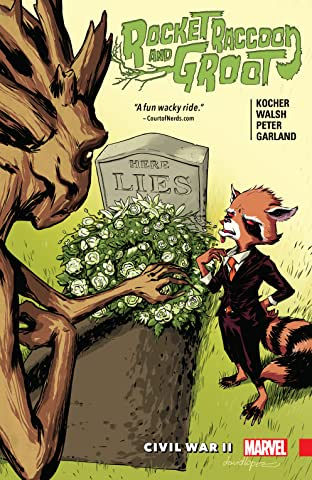 Rocket Raccoon and Groot Tome 2: Civil War II