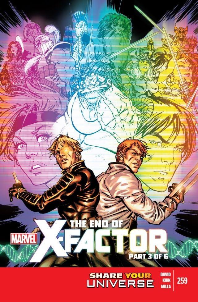 X-Factor (2005-2013) #259