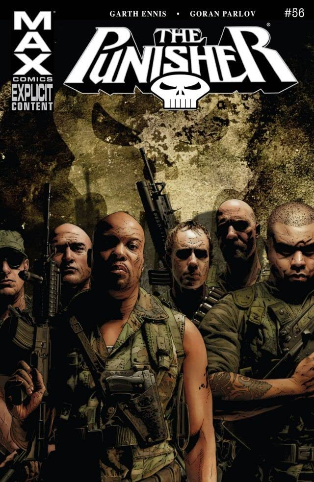 The Punisher (2004-2008) #56