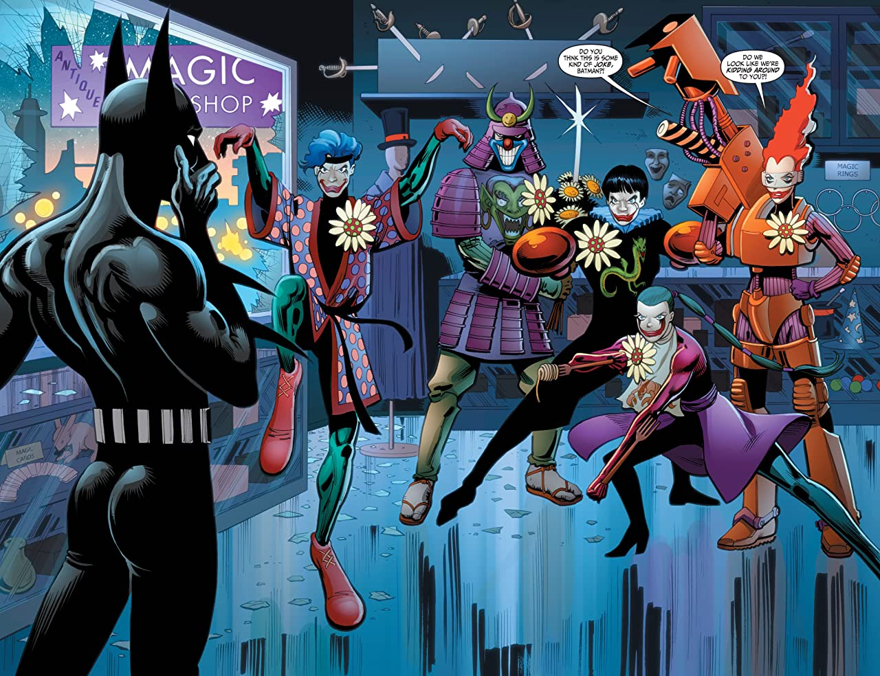 Batman Beyond (2012-2013): 10,000 Clowns