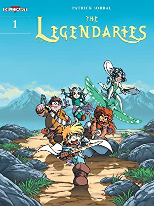 The Legendaries Vol. 1: The Stone of Jovénia