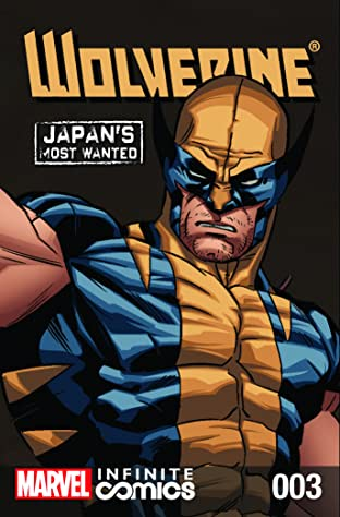 Wolverine: Japan's Most Wanted Infinite Comic #3
