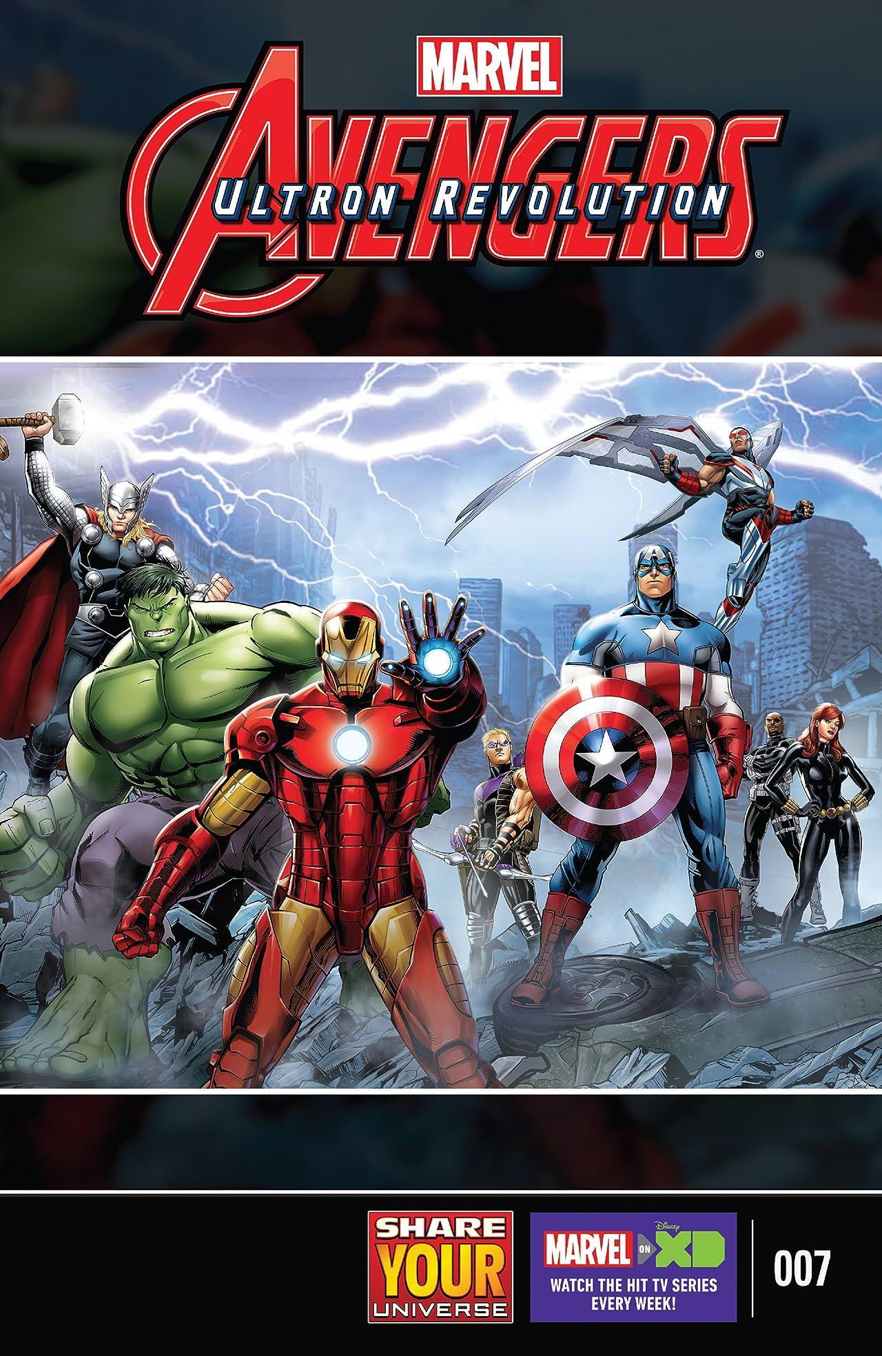 Marvel Universe Avengers: Ultron Revolution (2016-2017) #7