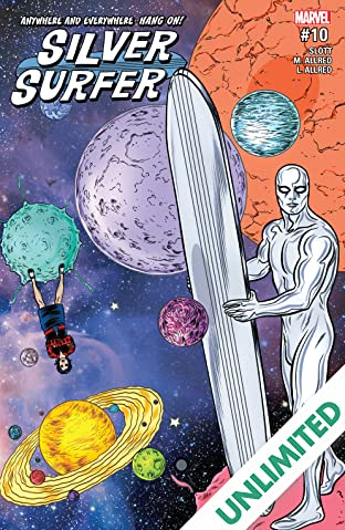 Silver Surfer (2016-2017) #10